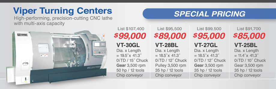 Sale pricing on turning centers,Sale pricing on CNC Lathes, in stock, ready for delivery, financing available